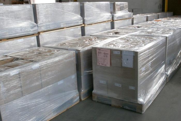 Transportsichere Verpackung
