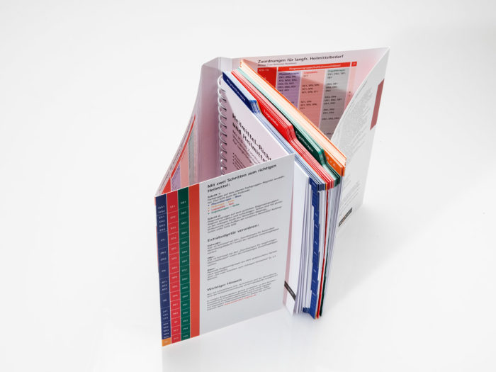 Softcoverbuch mit 8-seitigem Umschlag und Registerstanzung